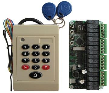 elevator ID card controller
