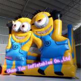 Cute Cartoon Inflatable Slide