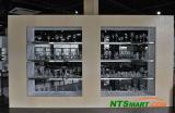 Wine Glass Series on Display