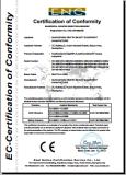 CE certificate OF IPL