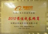 2012 the best growing company