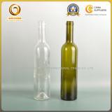 500ml bordeaux glass wine bottle