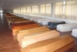 wooden coffins