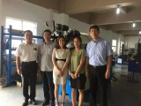 Visiting of SANYO technical staff
