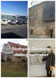 Visiting customer in Germany