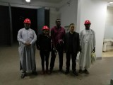 Our customers from Africa visiting us for the tanker on 27th,Oct.,2017