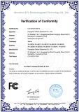 FCC certificate of LED light bars