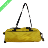 1680D Durable Nylon 3-Ball Bowling Bag With Wheel (3BBB01)