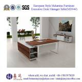 European Style Melamine Furniture Executive Desk Manager Table