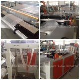 Heat sealing cold cutting bag making machine