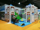Indoor playground sample in GTI Asia China Expo 2016 from 9th to 12th September 2016