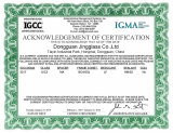 IGCC US Tempered Glass Certifications