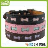 High Quality Leather Leash, Cartoon Dog Collar and Leash