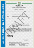 RoHS Certificate of Inverter Power
