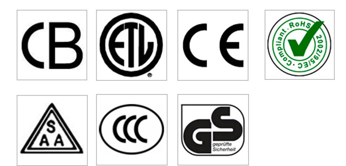 International Certifications for Appliances