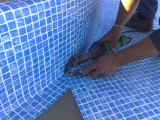 liner installation project