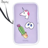 Unicorn EVA Zipper Carrying Travel Shockproof Phone Cases Bag Pouch for iPhone 8
