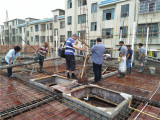 Customer On The Construction Site Floor