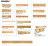 Building Decorations Sandstone Sculpture Wall Tiles
