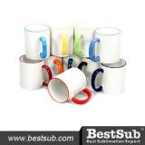 BestSub 11oz Rim Handle Ceramic Photo Mug