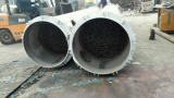 cooling condenser for for pyrolysis plants and oil disitllaiton plants