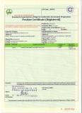 Soncap certificate of overhead crane