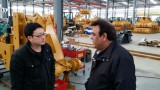 South America customer visit factory