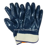 3 layers Fully Nitrile dipped jersey liner glove
