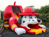 Commercial Large Inflatable Bounce castle /inflatable combo slide