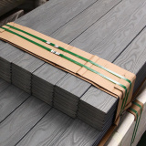 3D embossed wpc decking floor will be packaged