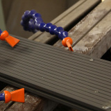 TW-02B #WPC Decking in the production