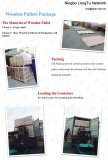 Wooden Pallets for Network Cabinet Package