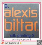 microfiber cloth--printing options-silk printing