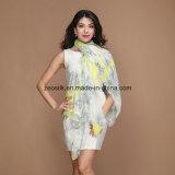 Printed Custom Silk Women Chiffon Silk Scarf