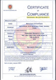 CE Certificate of Permanent Magnetic Lifter