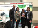 Our MARVEMAX and SUPERHAWK brand tires were popular in the expo.