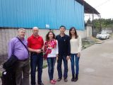 with customer from Russia