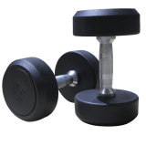 Rubber Dumbbell Crossfit Home Gym Equipment for Weight Lifting