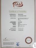 SAA certificate of Zhihai Genius Light