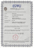 EU certificate for 17000V insulation rubber mat