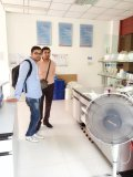 customer visiting to our factory