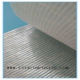 Warp knitted fabric composite surface mat