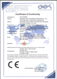 CE CERTIFICATE of SOLAR POWER SYSTEM