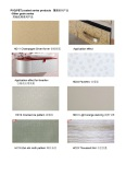 PVC coated steel sheet-other pattern and grain series