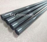 roll wrapping 3K carbon fiber tube