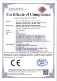 traffic light CE certificate