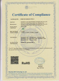 CE ROHS CERTIFICATIONS