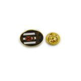 Owel U. S. Massese Souvenir Lapel Pin-Badge Enamel