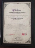 BV certificate for our screw type air compressors