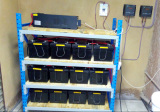 UPSEN PS Series Inverter Installation in African Hotel